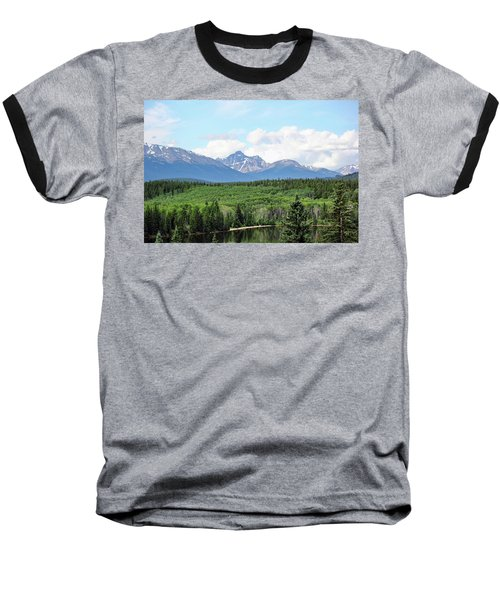 Pyramid Island - Jasper Ab. Baseball T-Shirt
