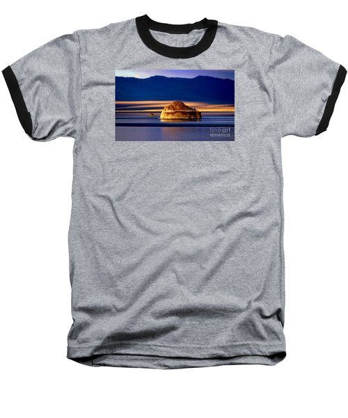 Pyramid Lake Nevada Baseball T-Shirt