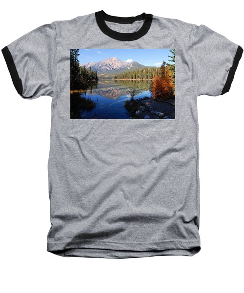 Pyramid Moutain Reflection Baseball T-Shirt