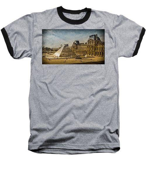 Paris, France - Pyramide Baseball T-Shirt