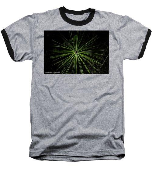 Pyrotechnics Or Pine Needles Baseball T-Shirt by Stefanie Silva