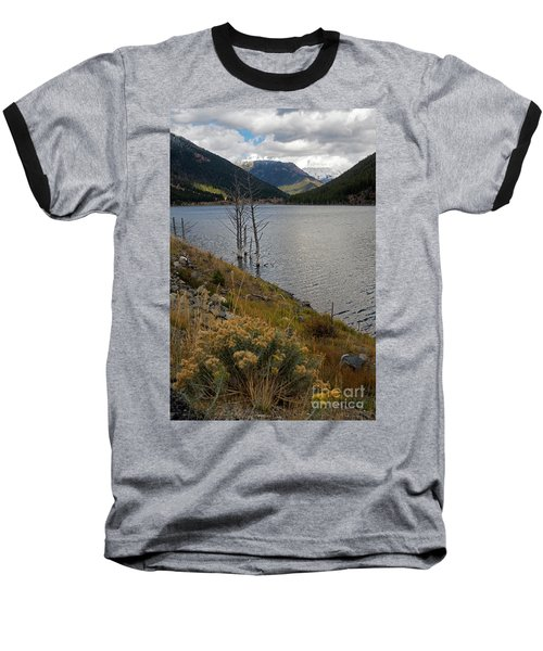 Quake Lake Baseball T-Shirt by Cindy Murphy - NightVisions