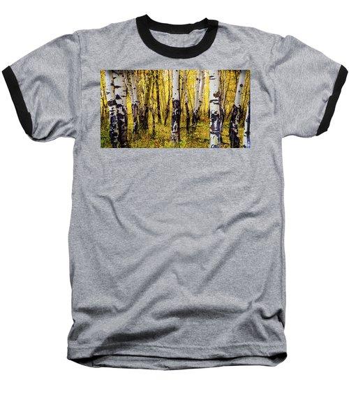Quakies In Autumn Baseball T-Shirt