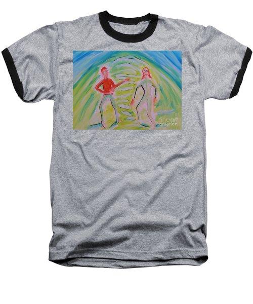 Quantum Entanglement Baseball T-Shirt