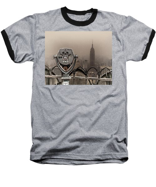 Baseball T-Shirt featuring the photograph Quarters Only by Chris Lord