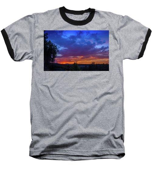 Quartz Canyon Sunset Baseball T-Shirt