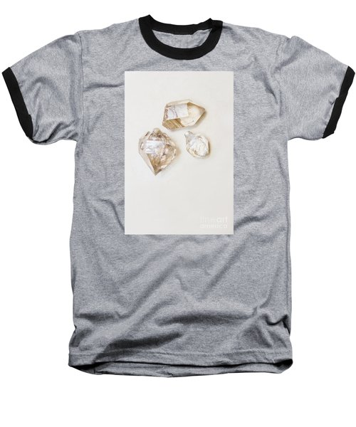 Baseball T-Shirt featuring the photograph Quartz Crystals by Jorgo Photography - Wall Art Gallery