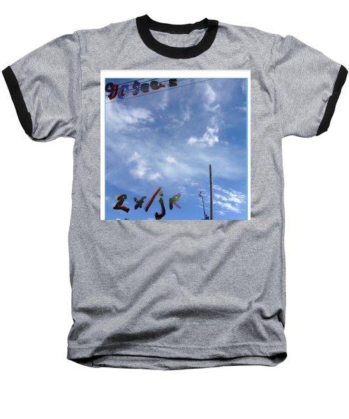 Quatre Vingt Dix Seconds Deux Fois Par Jour Baseball T-Shirt