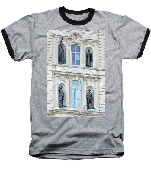 Quebec City 76 Baseball T-Shirt