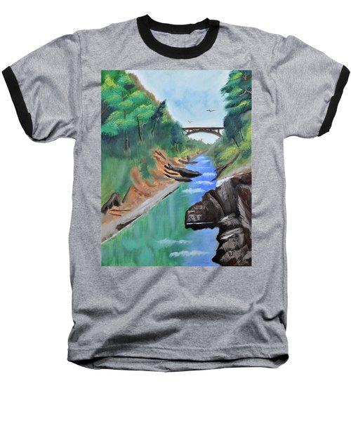 Quechee Gorge,vermont Baseball T-Shirt