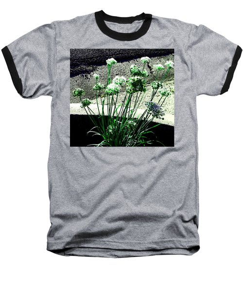 Baseball T-Shirt featuring the photograph Queen Anne's Lace by Lenore Senior