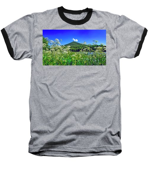 Queen Anne's Lace, Peaks Of Otter  Baseball T-Shirt