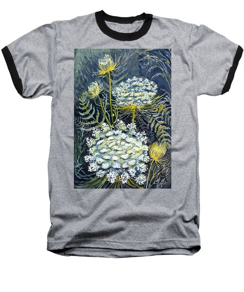 Queen Anne's Lace Baseball T-Shirt