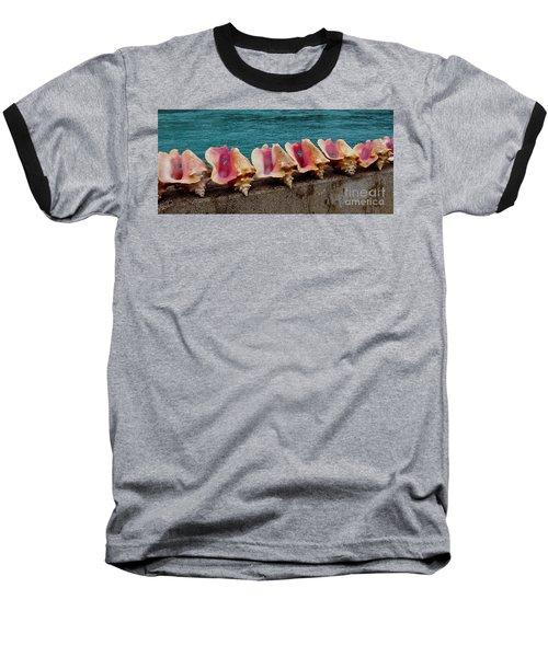 Queen Conch Baseball T-Shirt