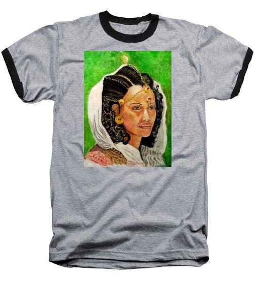 Queen Hephzibah  Baseball T-Shirt by G Cuffia