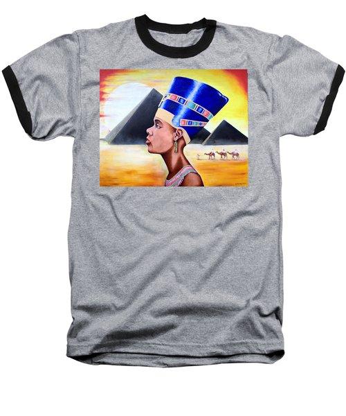 Queen Nefertiti Baseball T-Shirt