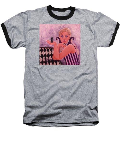 Queen Of Diamonds Baseball T-Shirt