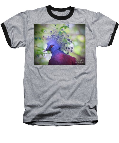 Queen Of The Birds Edition 2 Baseball T-Shirt by Judy Kay