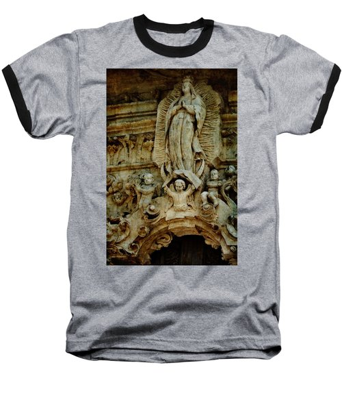 Queen Of The Missions Baseball T-Shirt