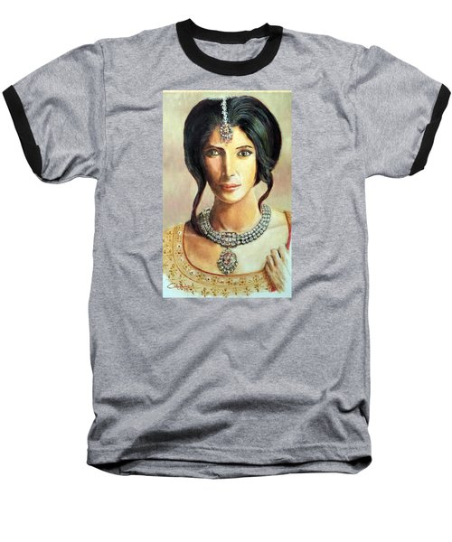 Queen Vashti Baseball T-Shirt by G Cuffia