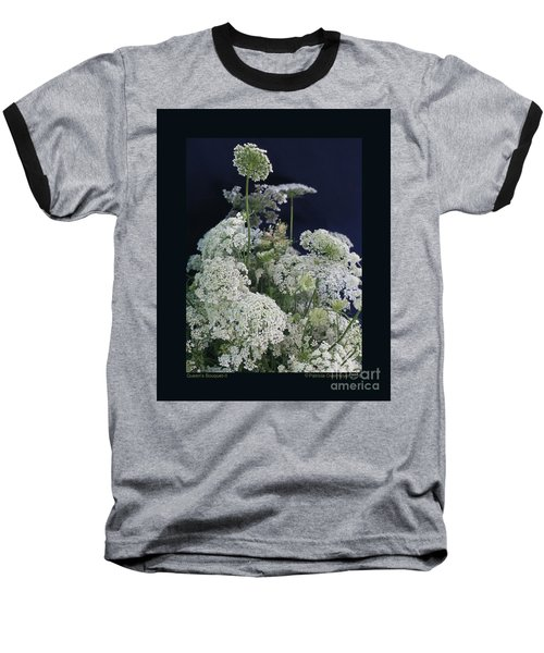 Queen's Bouquet-ii Baseball T-Shirt by Patricia Overmoyer