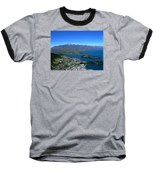 Queenstown New Zealand Baseball T-Shirt