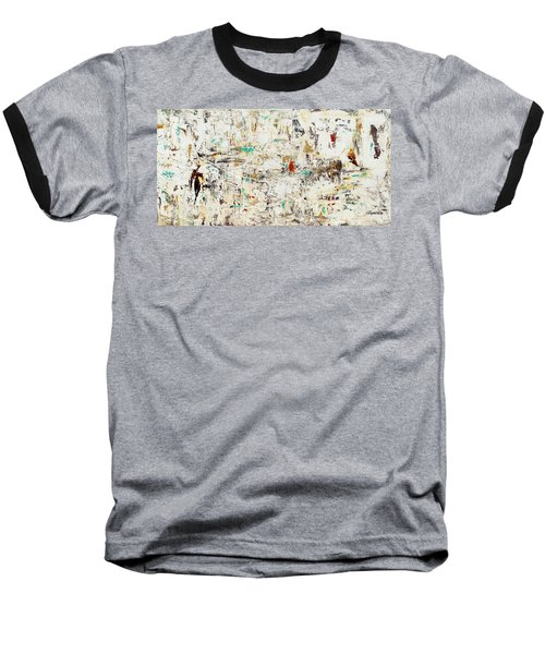 Baseball T-Shirt featuring the painting Quest by Carmen Guedez