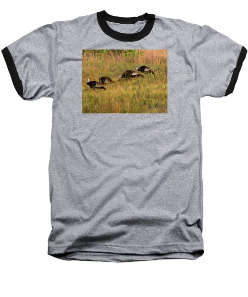 Quick Hide It's Thanksgiving Baseball T-Shirt