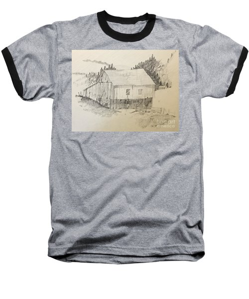 Quiet Barn Baseball T-Shirt