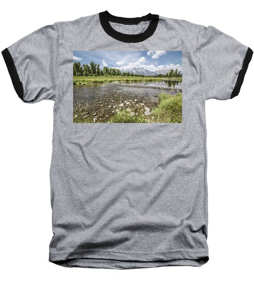 Baseball T-Shirt featuring the photograph Quiet Day On The Snake No.2 by Margaret Pitcher