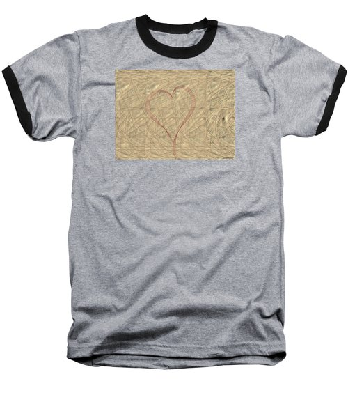 Tranquil Heart Baseball T-Shirt