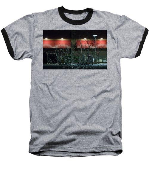 Quiet Night - Baseball T-Shirt
