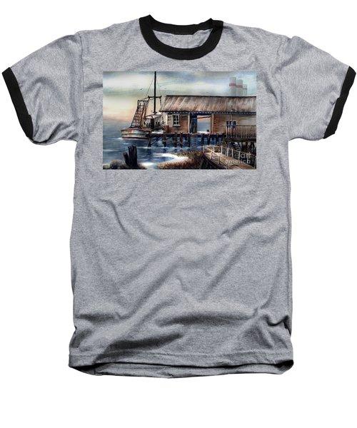 Quiet Pacific Dockside Baseball T-Shirt
