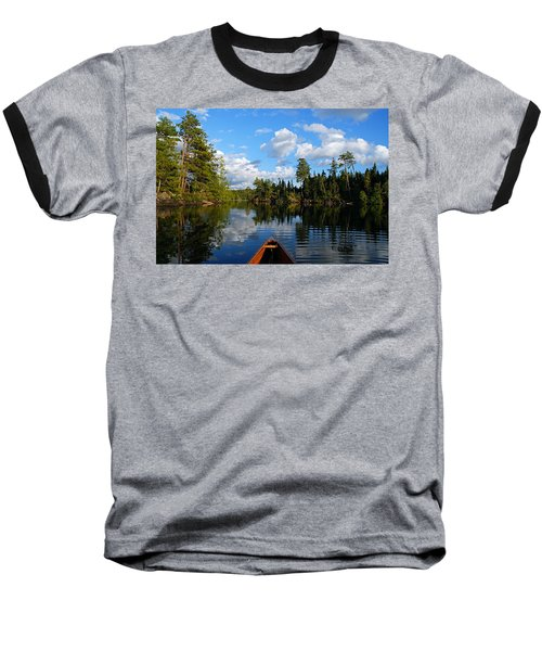 Quiet Paddle Baseball T-Shirt