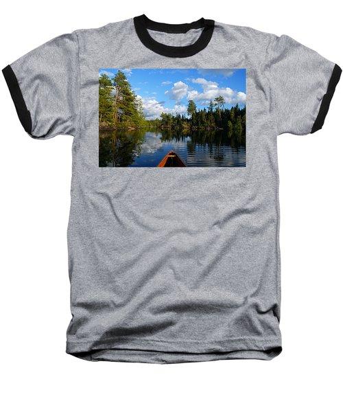 Quiet Paddle Baseball T-Shirt