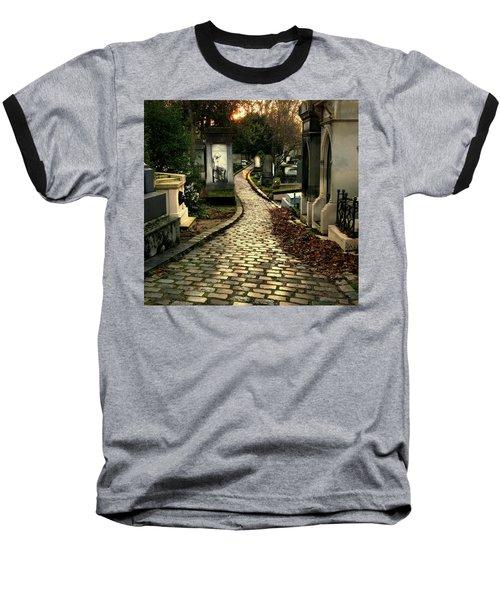 Pere Lachais Cemetery Road Baseball T-Shirt