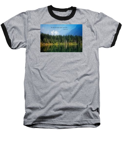 Baseball T-Shirt featuring the photograph Quiet Reflections 2 by Lynn Hopwood