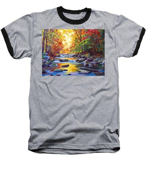 Quiet Stream Baseball T-Shirt