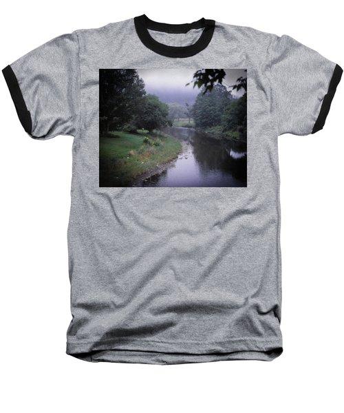 Quiet Stream- Woodstock, Vermont Baseball T-Shirt