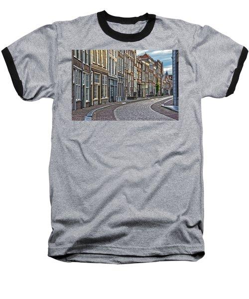 Quiet Street In Dordrecht Baseball T-Shirt