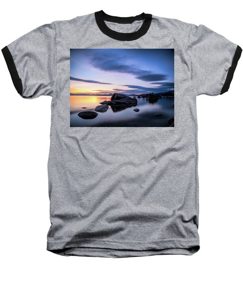 Quiet Sunset Baseball T-Shirt