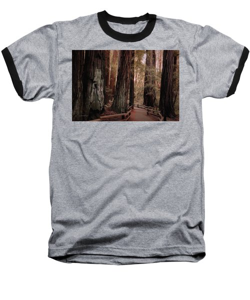 Quiet Walk Baseball T-Shirt