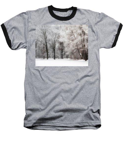 Quiet Winter  Baseball T-Shirt