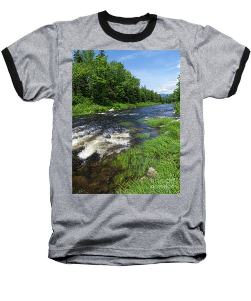 Quill Pond Brook Near Rangeley Maine  -70748 Baseball T-Shirt