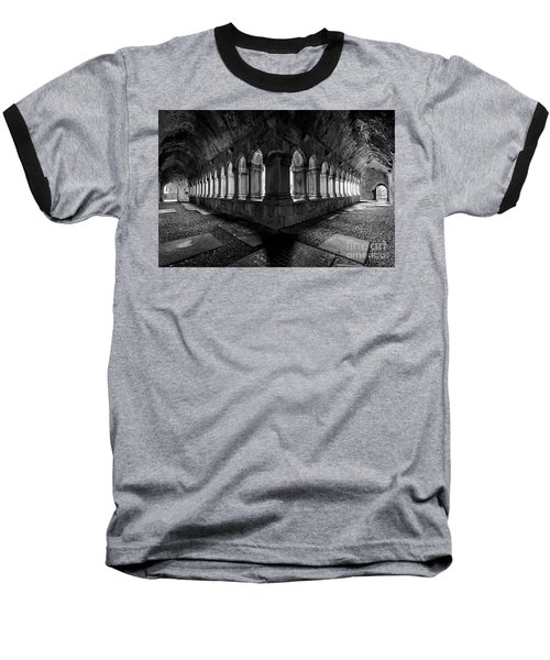 Baseball T-Shirt featuring the photograph Quin Abbey by Dennis Hedberg