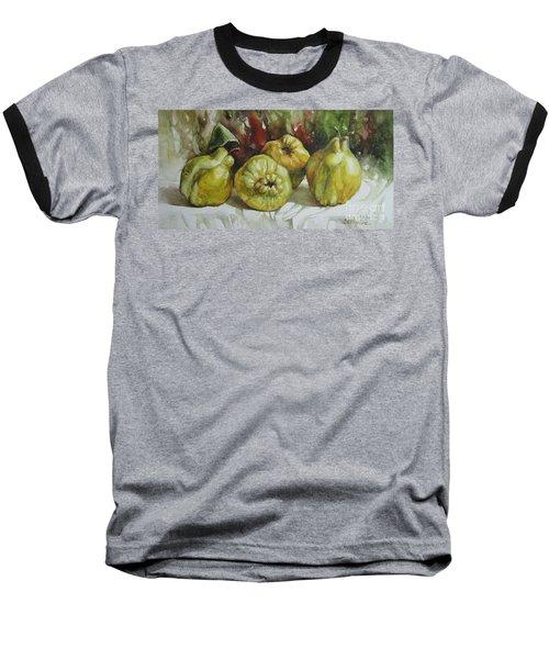 Quinces Baseball T-Shirt by Elena Oleniuc