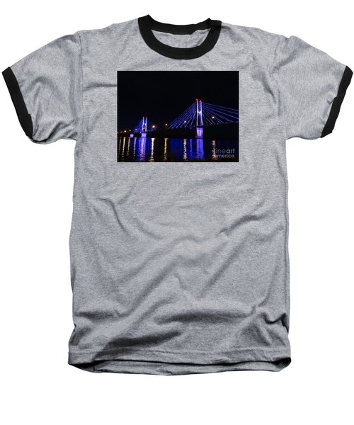 Quincy Bay View Light Reflection Baseball T-Shirt by Justin Moore