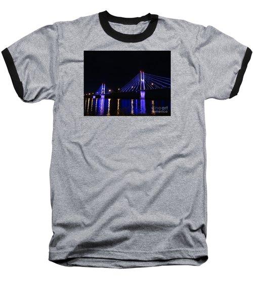 Quincy Bay View Light Reflection Baseball T-Shirt
