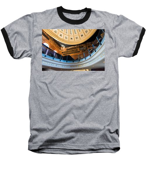 Quincy Market Vintage Signs Baseball T-Shirt