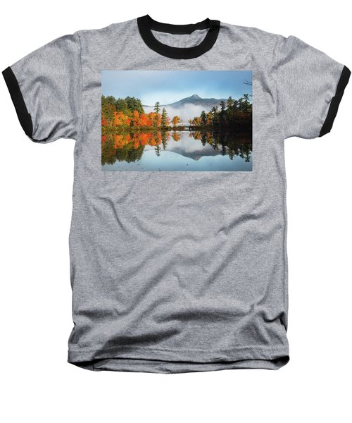 Mount Chocorua Fall Reflection Baseball T-Shirt